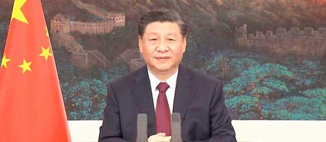 Mensaje del Presidente de China a Colombia